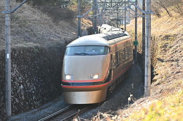 東武鉄道100系スペーシア 「日光詣」編成 (回送)