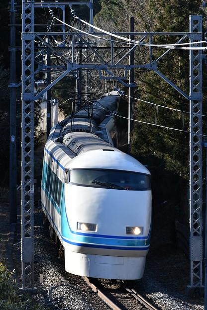 東武鉄道100系スペーシア 「粋」編成 (回送)