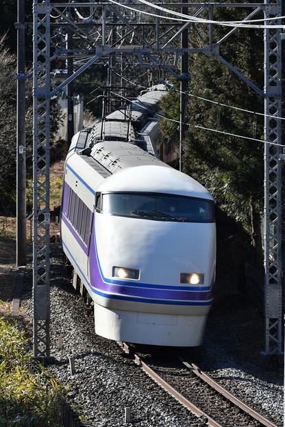 東武鉄道100系スペーシア 「雅」編成 (特急きぬ105号)
