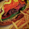 写真: オープン・サンドイッチ