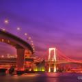 写真: 東京夜景 レインボーブリッジA