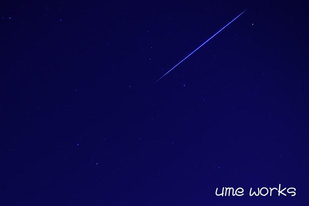 Shooting Star @双子座流星群