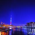 Photos: 東京百景 言問橋からの隅田川夜景