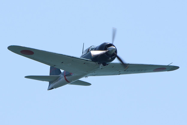 写真: 零式艦上戦闘機二二型 -3