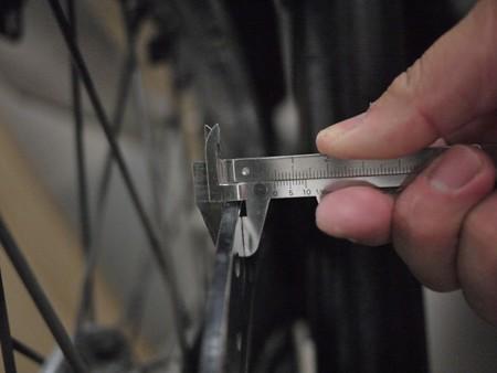 フロントディスクローター厚み使用限度