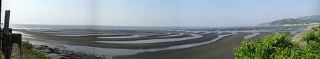 おこしき海岸パノラマ