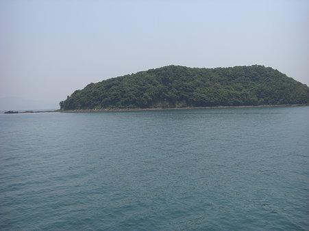 亀島・・・左が頭