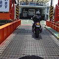 写真: カワセミ号inフェリー