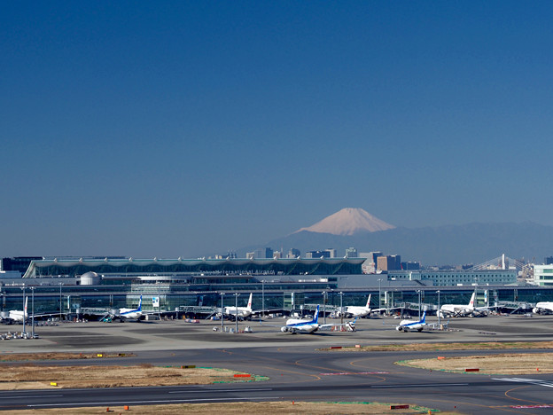 Tokyo International Airport, 202102