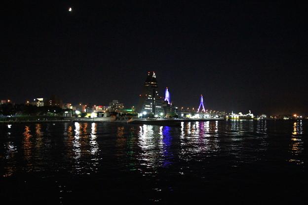 夜の青い海公園02