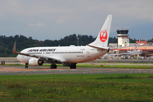 JAL  taxiing 02