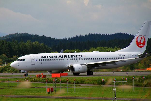 旅客機JAL taxiing 01