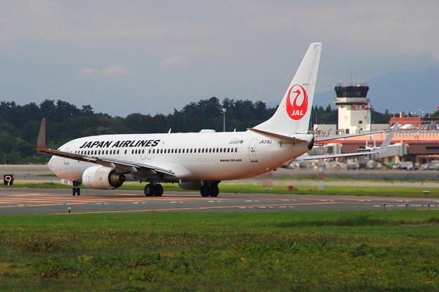 旅客機JIAL taxiing 02