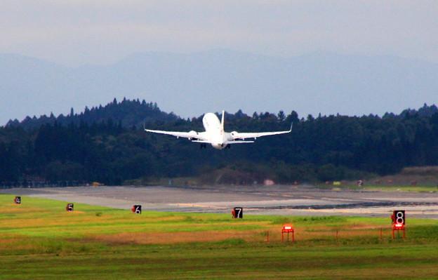 旅客機 JAL taku off 03