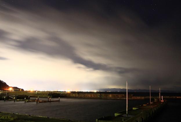 青森市と津軽半島の街灯り09