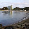 Photos: 真冬の浅虫海水浴場