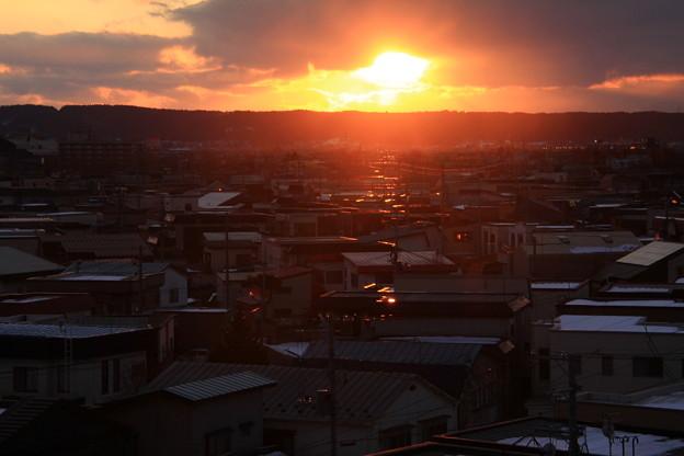 真冬の夕景色03