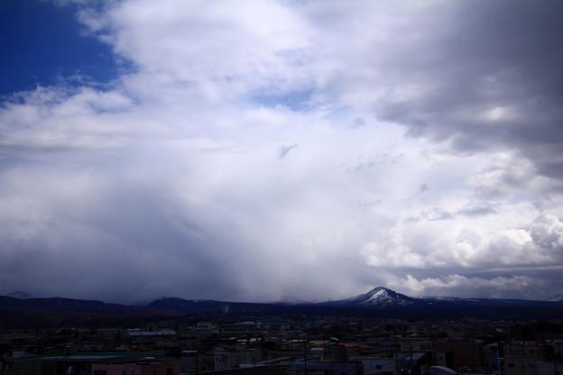 雪降る八甲田山01