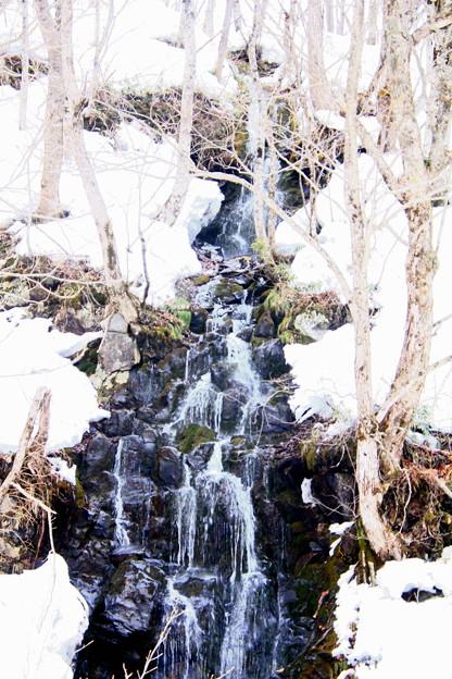 Photos: 雪解け水の滝02