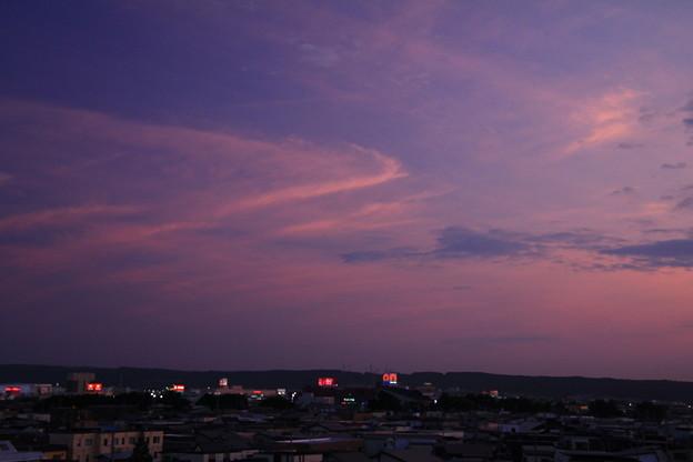 Photos: 雲染まる