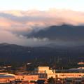 夕暮れのやませ雲1