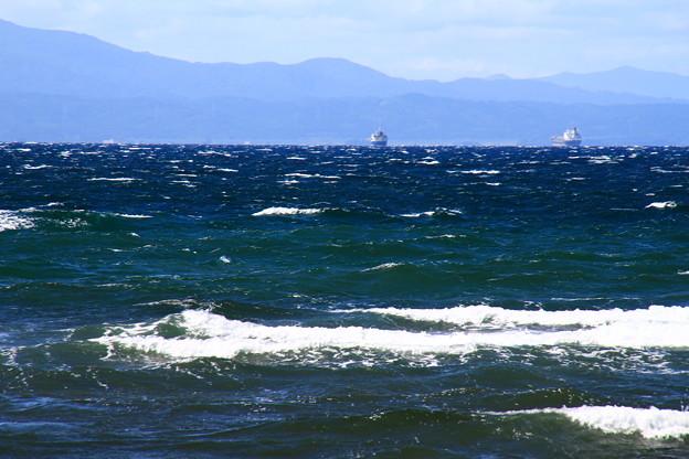 荒れる海1