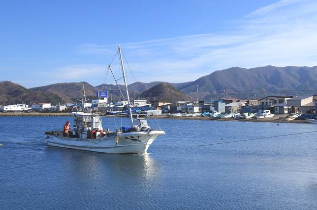 Photos: 帰港(原別漁港)