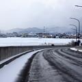 雪のある風景1