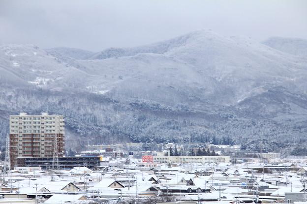 ー4℃以下の雪景色