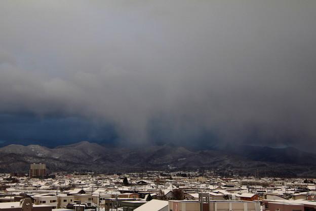 雪雲(乱層雲)