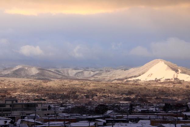 日向の雪景色3