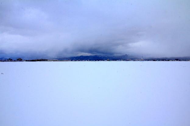 Photos: 雪平線