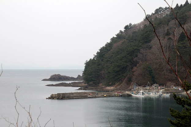 Photos: 小さな漁港