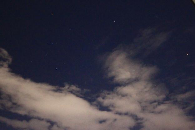 オリオンと火星