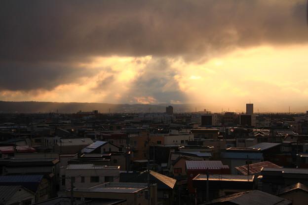 Photos: 冬の夕暮れ時