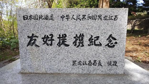 中国と姉妹提携記念碑DSC_0309