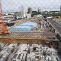 脳外科及び複合商業施設建設予定地工事現場DSC_0493