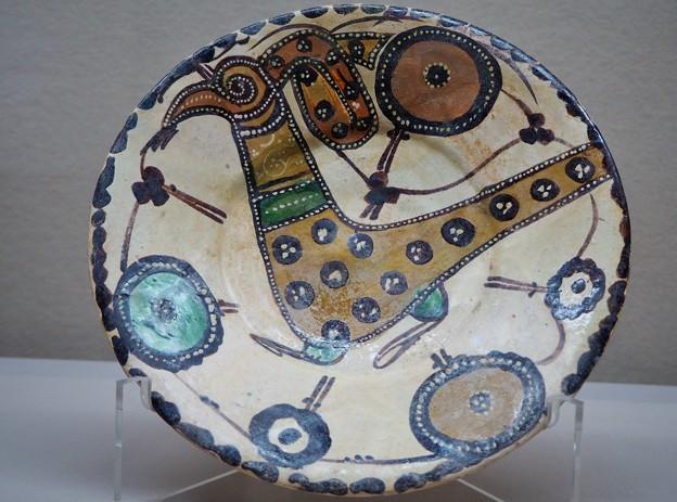 ペルシアの陶器-色と文様