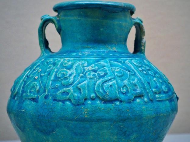 ペルシャの陶器 文様と彩