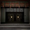 写真: 神社の空間