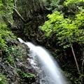 写真: 佛沢の滝上風景