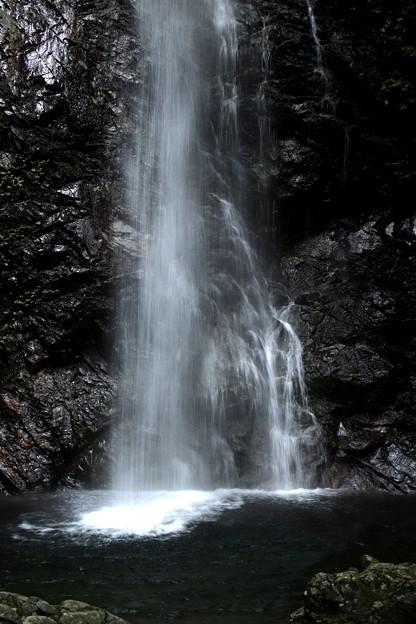 滝壺(払沢の滝)