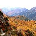 大観峰よりの紅葉風景16