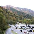 写真: 扇沢駐車場風景