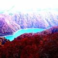 二居湖(ふたいこ)の紅葉7