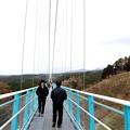 吊り橋歩行