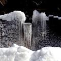 湯檜曽の氷柱風景3