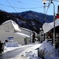 湯檜曽雪下ろし風景