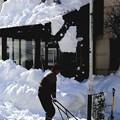 屋根の雪下ろし1