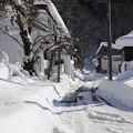 湯桧曽の雪景色